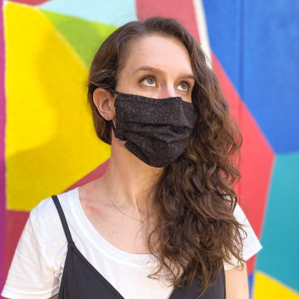surgical style face mask